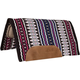 Mustang Canyon Navajo Blanket Top Wool Pad Tan/Blk