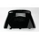 19 1/4 in. Low-Cut Gloss Black Windshield - 450-455-50