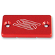 Red Front Brake Reservoir Cover - 1801