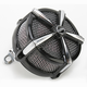 Black/Chrome Hi-Five Mach 2 Air Cleaner Kit - 9535