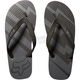 Black Striker Flip Flops