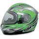 Multi Green FX-90S Snow Helmet