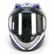 Blue Full Face Helmet
