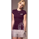 Womens Pinstripe T-Shirt