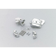 Chrome Brake and Clutch Control Dress-Up Kit for Dual Discs - 9119