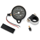 2:1 Ratio Black Faced Mini Mechanical Speedometers/Tripmeter With Black Housing - 2210-0251