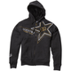 Heather Black Sasquatch Rockstar Zip Hoody