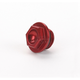 Aluminum Red Anodized Oil Filler Plug - 24-070