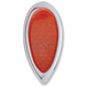 Teardrop Flush Mount Red LED Taillight - 402060