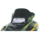 12 in. Low Black/Green Windshield - 12220