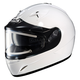 White IS-16SN Helmet w/Electric Shield