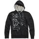 Black Hacker Zip Hoody