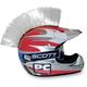 White Helmet Mohawk - PCHMWHITE
