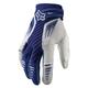 Blue/White Platinum Race Gloves
