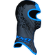 Black/Cyan Shredder Balaclava - 2712.41613