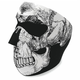 Black and White Skull Face Mask - WNFM002