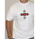 White Flame Cross T-Shirt