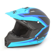 Blue/Black Assault Helmet