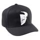 Slider Curved Bill Black/White Hat