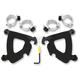 Black No-Tool Trigger-Lock Hardware Kits for Gauntlet Fairing - MEB1993