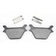 Organic Brake Pads - 1720-0206