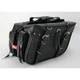 Rivet Box Style Slant Saddlebags - 9086RP