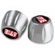 Silver Bar Ends - R-K3430