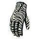 Womens Zebra Short Catwalk Gloves