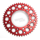 Red Rear Sprocket
