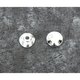 Chrome Plugs for Handlebar Clamps - DS-290605