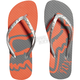 Womens Melon Core Flip Flops