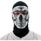 Skull Coolmax Balaclava with Neoprene Face Mask - WBC002NFME