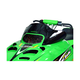 8 in. X-Low Black Snocross Style Windshield - 12323
