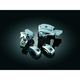 Chrome Brake and Clutch Control Dress-Up Kit - 1740