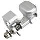 Silver Gas Cap Latch - 12-041S