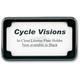Beveled License Plate Frame - CV-4615B