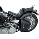 Left-Side Solo Leather Swingarm Saddlebag - SSBBL03