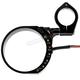 Black Anodized Speedo Relocation Bracket W/ Easy Moiunt Clamp - 10-301B