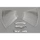 Chrome Spoke Set for Rear Steel Hub - 08019