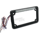 Single-Row LED License Plate Frame w/Turn Signals - 02603