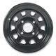 Black Large Bell Delta Steel Wheel - 1225553014