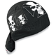 Iron Cross Skull Flydanna Headwrap - Z529
