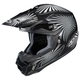 Black/Gray/White Whirl CL-X6 Helmet