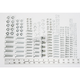 240-Piece Metric Zinc-Plated Bolt-Nut-Washer Assortment - W5334
