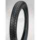 Rear HF302B 4.00H-18 Blackwall Tire - 25-31818-400BTT