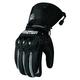 Black Mechanized 5 Gloves