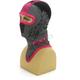 Black/Pink Shredder Balaclava - 2712