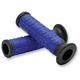 Blue/Black Cush Grips - S10CHU