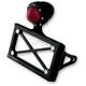 Black Taillight License Plate Horizontal Bracket - 0215-2007-BP