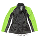 Womens Black/Hi-Viz Neon RS-2 2-Piece  Rainsuit